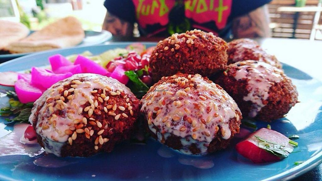 """Photo of Mazaya Falafel  by <a href=""""/members/profile/RoslinnieJemy"""">RoslinnieJemy</a> <br/>Mazaya falafel <br/> July 6, 2016  - <a href='/contact/abuse/image/75827/158154'>Report</a>"""