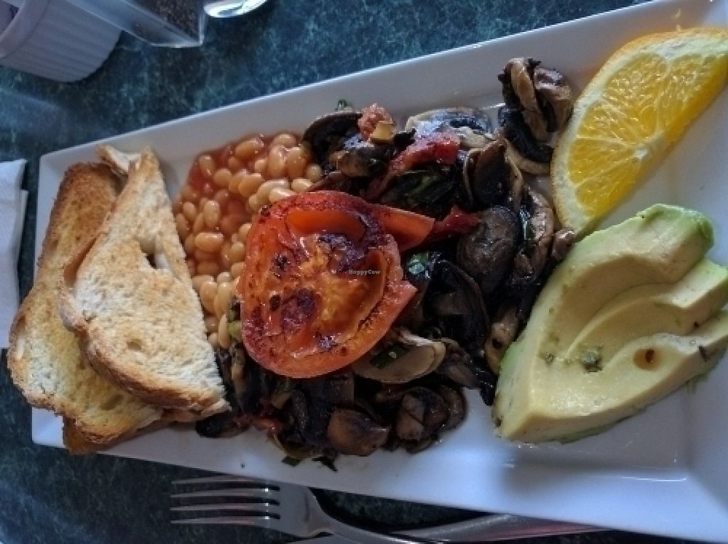 """Photo of Brewsters Cafe  by <a href=""""/members/profile/VeganSoapDude"""">VeganSoapDude</a> <br/>Gourmet mushrooms <br/> June 30, 2016  - <a href='/contact/abuse/image/75834/251601'>Report</a>"""