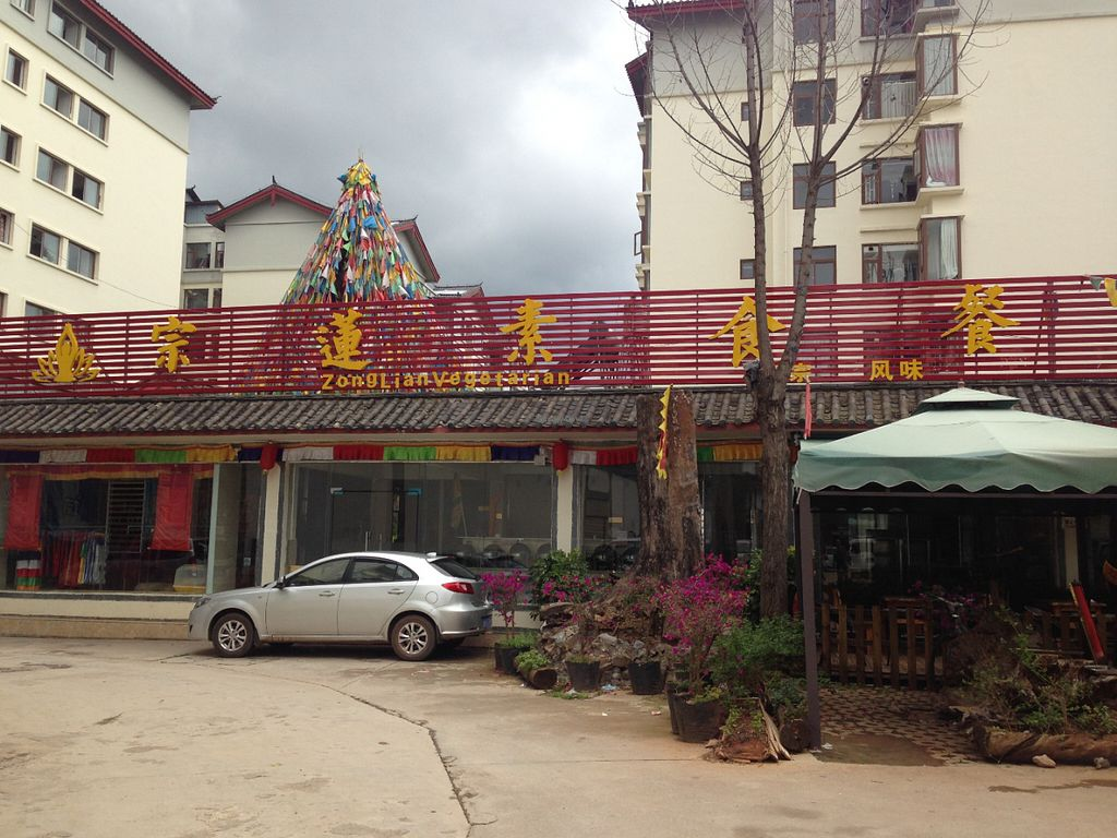 """Photo of Zhong Lian Vegetarian  by <a href=""""/members/profile/Stevie"""">Stevie</a> <br/>Shop sign <br/> July 1, 2016  - <a href='/contact/abuse/image/75840/157086'>Report</a>"""