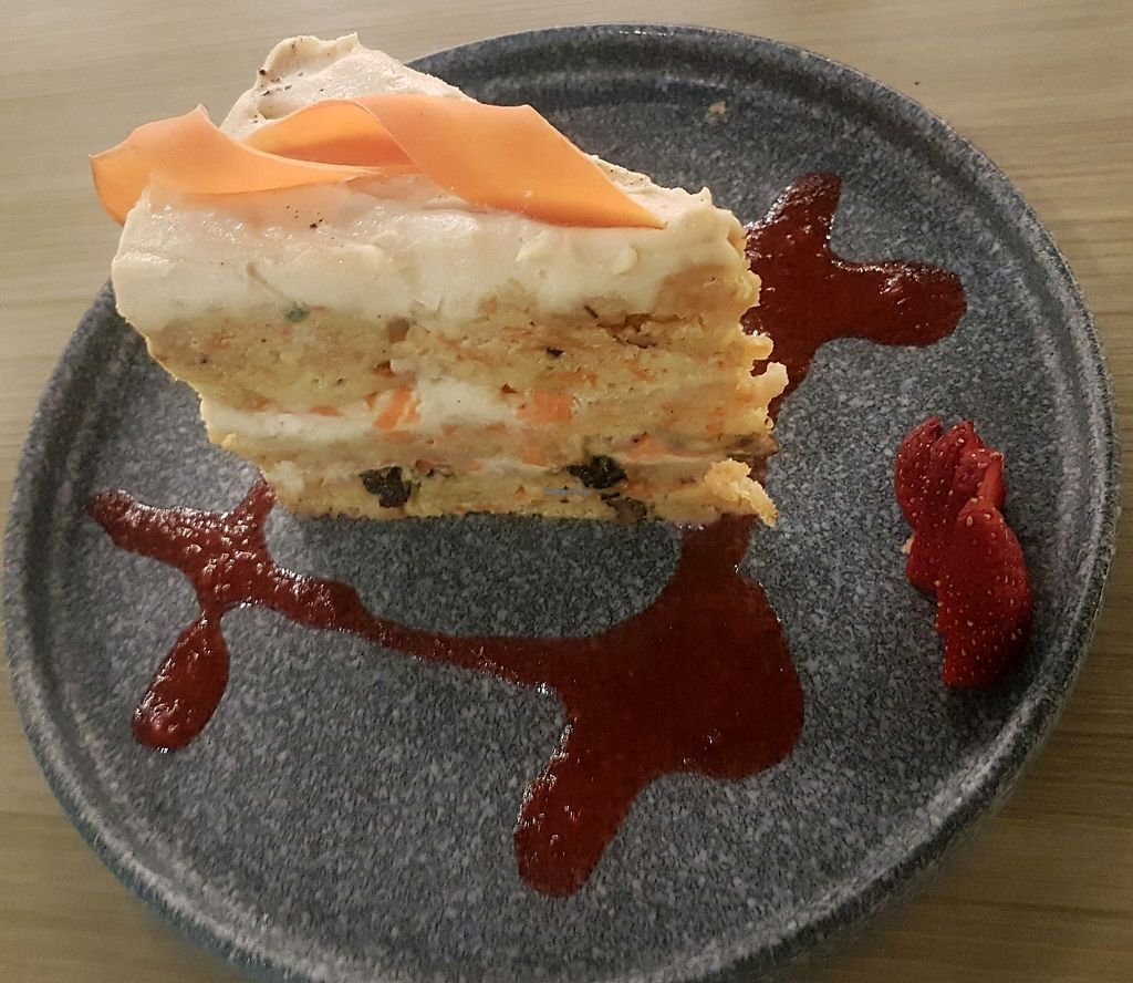 """Photo of Vegan Inc  by <a href=""""/members/profile/Mellow2bee"""">Mellow2bee</a> <br/>carrot cake <br/> March 22, 2018  - <a href='/contact/abuse/image/75864/374265'>Report</a>"""