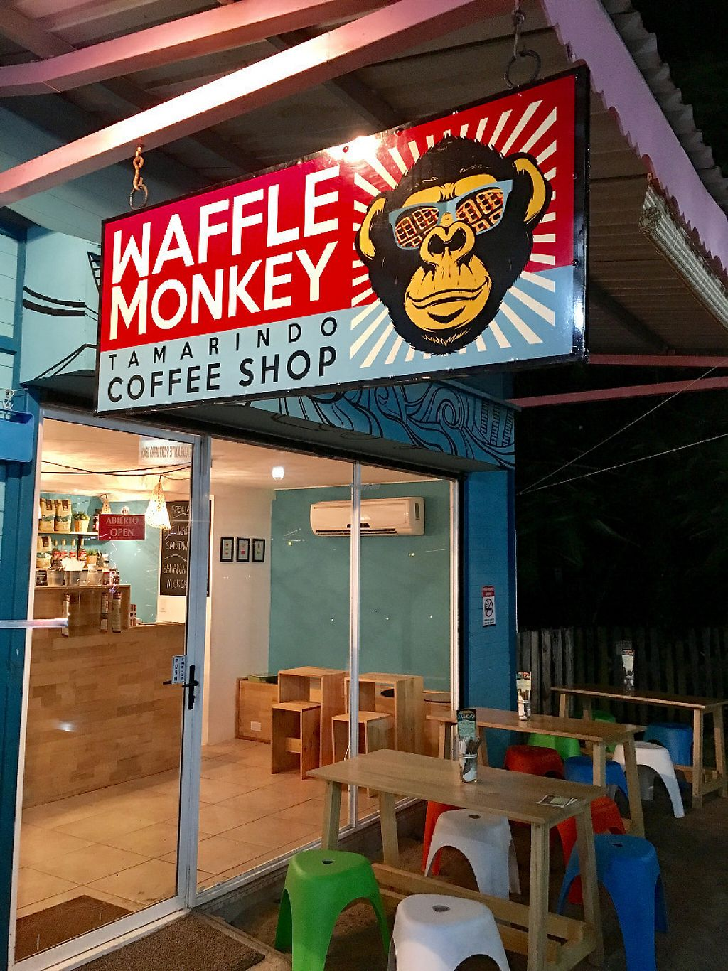 """Photo of Waffle Monkey  by <a href=""""/members/profile/community"""">community</a> <br/>Exterior <br/> November 29, 2016  - <a href='/contact/abuse/image/75873/195783'>Report</a>"""