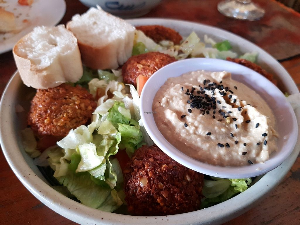 """Photo of Rising Sun Restaurant & Guesthouse  by <a href=""""/members/profile/vegatleticas"""">vegatleticas</a> <br/>Falafel Bowl <br/> February 24, 2018  - <a href='/contact/abuse/image/75892/362997'>Report</a>"""