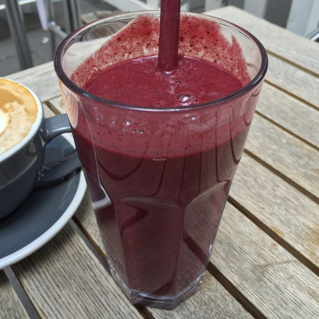 """Photo of The Pudding Pantry  by <a href=""""/members/profile/Chris_D"""">Chris_D</a> <br/>Superfood smoothie  <br/> July 14, 2016  - <a href='/contact/abuse/image/75902/159791'>Report</a>"""
