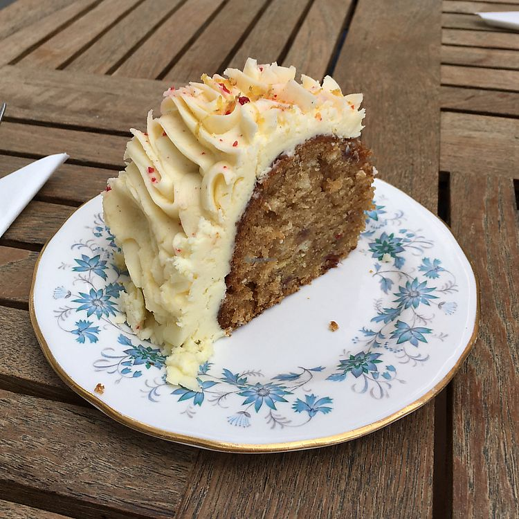 """Photo of The Pudding Pantry  by <a href=""""/members/profile/Spaghetti_monster"""">Spaghetti_monster</a> <br/>vegan orange cake  <br/> July 1, 2017  - <a href='/contact/abuse/image/75902/275581'>Report</a>"""