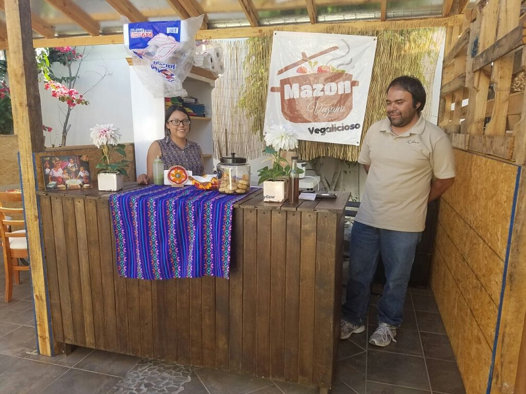 """Photo of Mazon Vegano  by <a href=""""/members/profile/kenvegan"""">kenvegan</a> <br/>The stand <br/> July 6, 2016  - <a href='/contact/abuse/image/75948/158174'>Report</a>"""