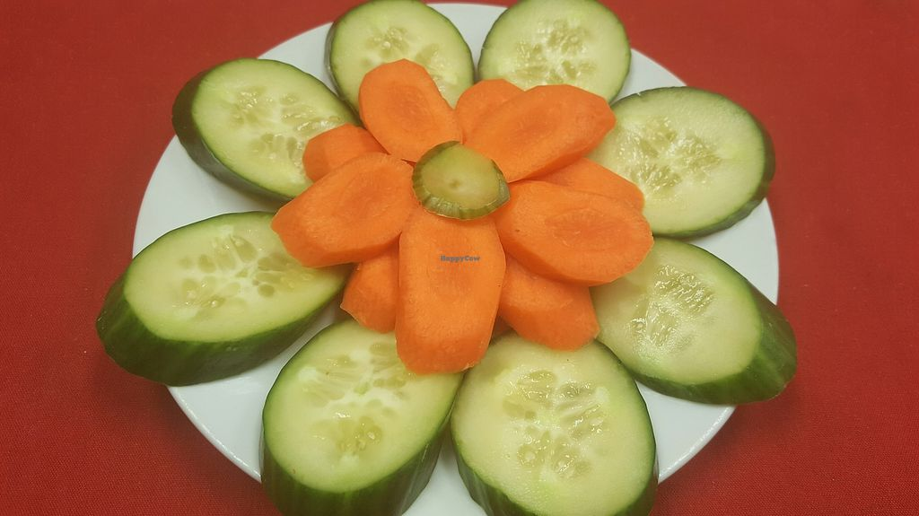"""Photo of Mediterrano Turkish and Mediterranean Cuisine  by <a href=""""/members/profile/RamazanGenc"""">RamazanGenc</a> <br/>Veggie plate: Cucumber Carrot <br/> March 9, 2018  - <a href='/contact/abuse/image/75961/368296'>Report</a>"""