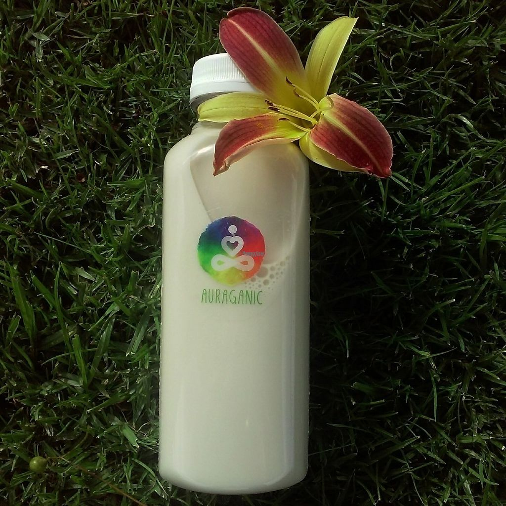 """Photo of Auraganic Juicery  by <a href=""""/members/profile/anastronomy"""">anastronomy</a> <br/>Almond, dates, and vanilla bean drink. Absolutely delicious <br/> February 19, 2017  - <a href='/contact/abuse/image/75964/228013'>Report</a>"""