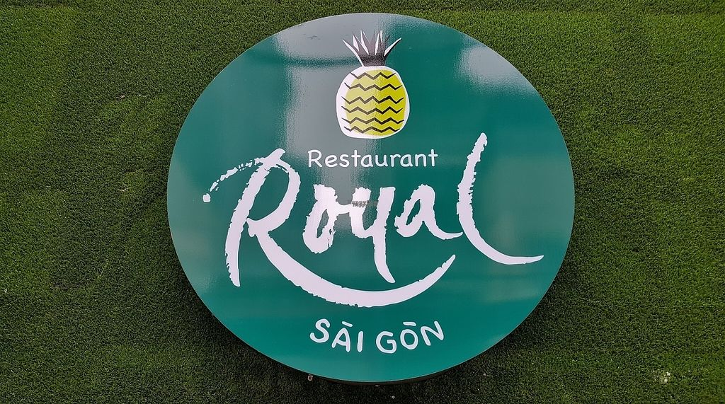 """Photo of Royal Sai Gon   by <a href=""""/members/profile/s0ulfly"""">s0ulfly</a> <br/>Royal Saigon Logo - Vegetarian Friendly Restaurant <br/> January 28, 2017  - <a href='/contact/abuse/image/75977/218317'>Report</a>"""