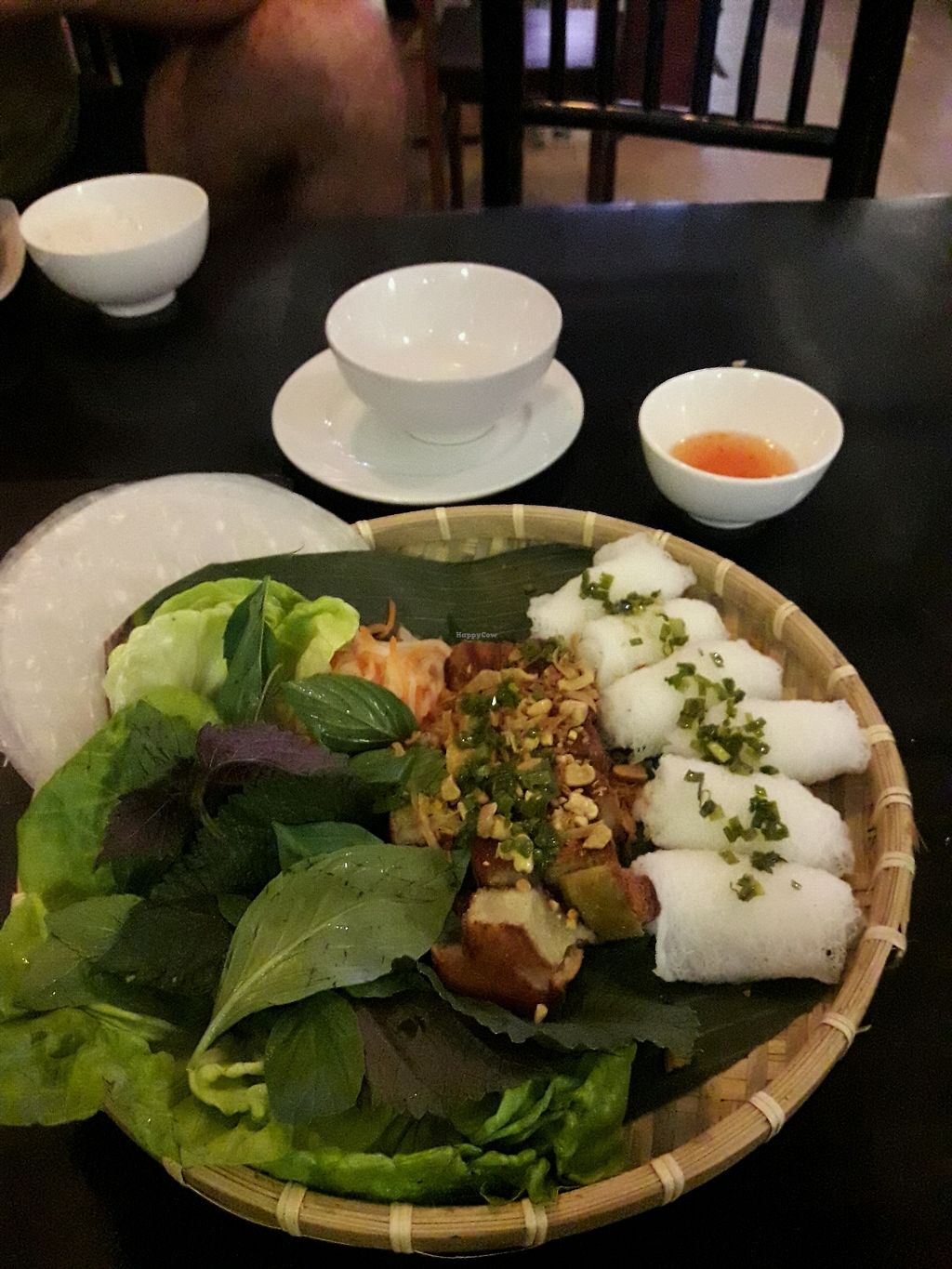"""Photo of Royal Sai Gon   by <a href=""""/members/profile/FineGiebler"""">FineGiebler</a> <br/>very delicious spring rolls to roll by yourself <br/> February 3, 2018  - <a href='/contact/abuse/image/75977/354486'>Report</a>"""