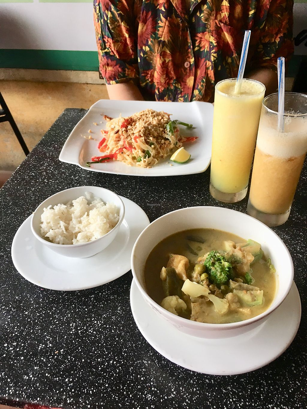 "Photo of Barley Vegetarian  by <a href=""/members/profile/CamilaSilvaL"">CamilaSilvaL</a> <br/>Pad thai and green curry  <br/> January 31, 2018  - <a href='/contact/abuse/image/75979/353254'>Report</a>"