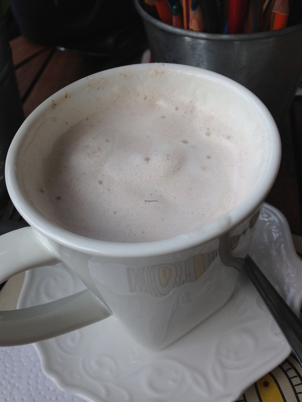 """Photo of RAW  by <a href=""""/members/profile/EmilyNoelle"""">EmilyNoelle</a> <br/>Chai tea with almond milk <br/> May 11, 2017  - <a href='/contact/abuse/image/75996/257934'>Report</a>"""
