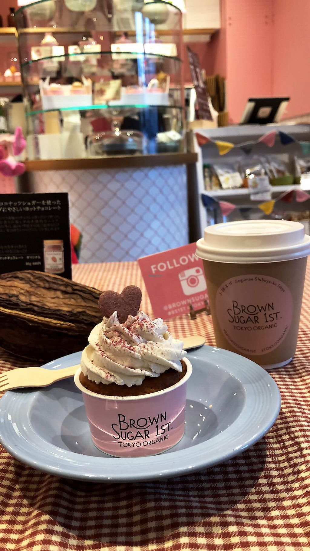"Photo of Brown Sugar 1st  by <a href=""/members/profile/imsamanthalee"">imsamanthalee</a> <br/>Hot chocolate and chocolate vanilla cupcake  <br/> February 26, 2018  - <a href='/contact/abuse/image/76010/364041'>Report</a>"