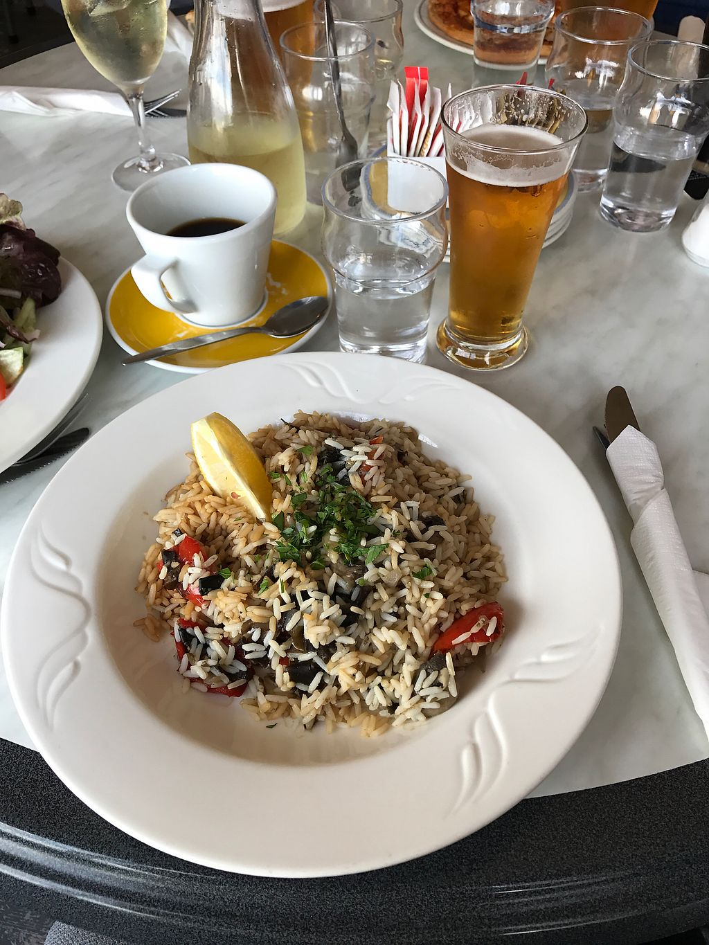 """Photo of O Dowds Cafe  by <a href=""""/members/profile/AlannaghMasterson"""">AlannaghMasterson</a> <br/>sea vegetables, rice, mushroom and red pepper  <br/> August 15, 2017  - <a href='/contact/abuse/image/76014/292965'>Report</a>"""