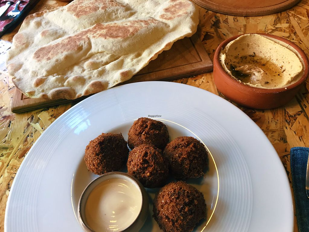 """Photo of Rokka  by <a href=""""/members/profile/veganoteacher"""">veganoteacher</a> <br/>Falafel Plate <br/> January 29, 2018  - <a href='/contact/abuse/image/76042/352317'>Report</a>"""