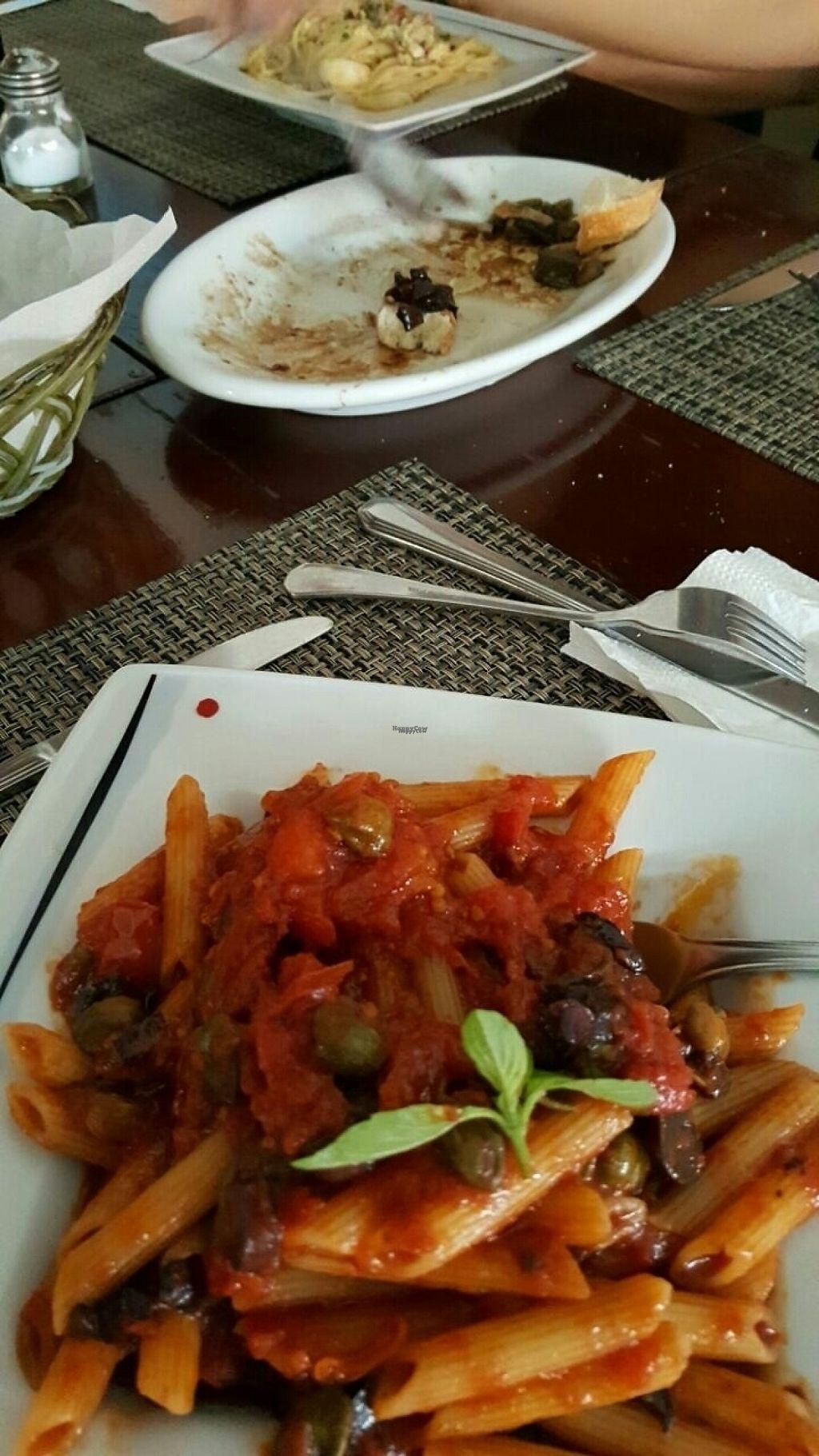 """Photo of Spaghetto  by <a href=""""/members/profile/AilaMa%C3%ADraSato"""">AilaMaíraSato</a> <br/>Spaghetti alla puttanesca, opção sem aliche! <br/> March 9, 2017  - <a href='/contact/abuse/image/76050/234362'>Report</a>"""