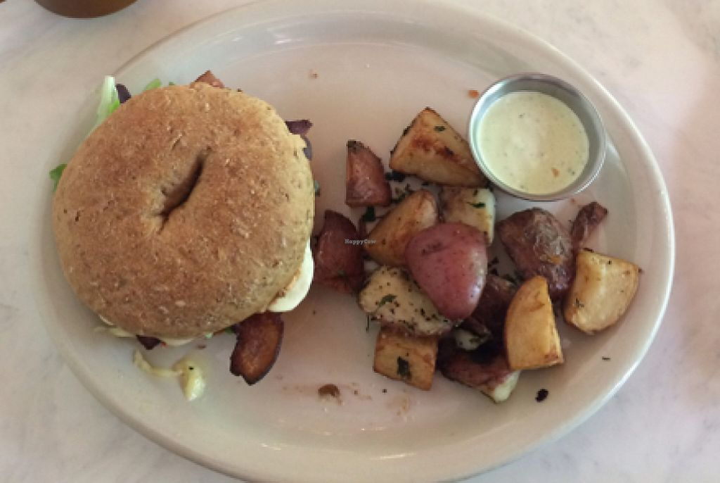 """Photo of Arsaga's at the Depot  by <a href=""""/members/profile/sarahbethcory"""">sarahbethcory</a> <br/>Rise and Shine Breakfast Sandwich <br/> July 6, 2016  - <a href='/contact/abuse/image/76066/189779'>Report</a>"""
