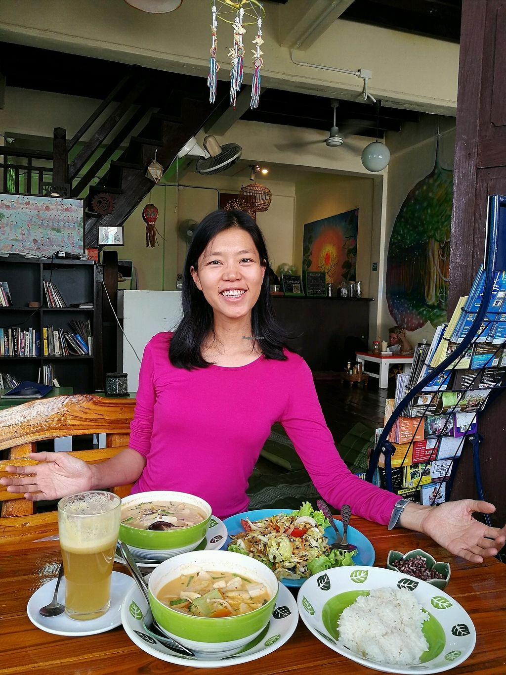 "Photo of Bodhi Tree Cafe 2  by <a href=""/members/profile/RawChefYin"">RawChefYin</a> <br/>loved the vegan food here!!!!!  <br/> January 26, 2018  - <a href='/contact/abuse/image/76071/351151'>Report</a>"
