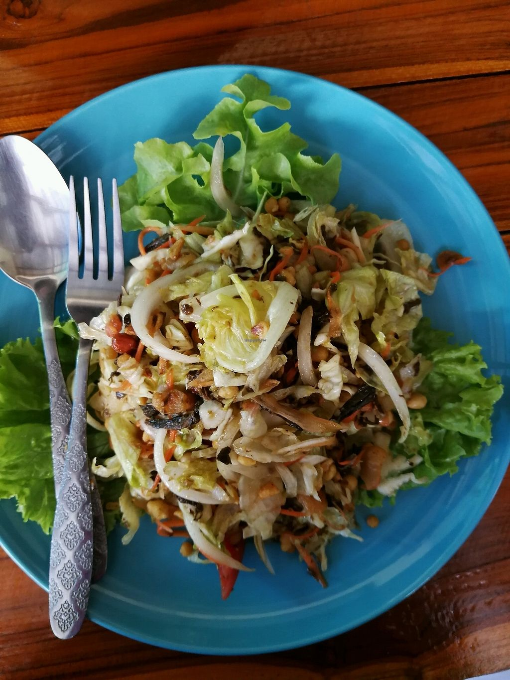 "Photo of Bodhi Tree Cafe 2  by <a href=""/members/profile/RawChefYin"">RawChefYin</a> <br/>Burmese tea leaf salad <br/> January 26, 2018  - <a href='/contact/abuse/image/76071/351152'>Report</a>"