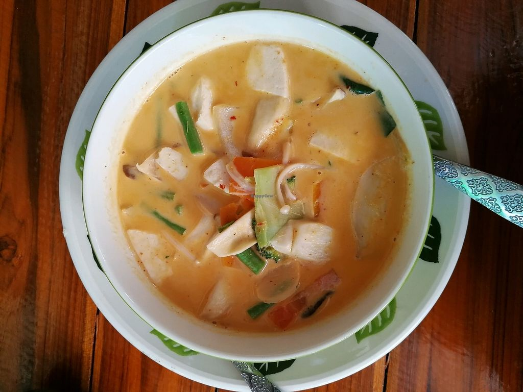 "Photo of Bodhi Tree Cafe 2  by <a href=""/members/profile/RawChefYin"">RawChefYin</a> <br/>vegan Red curry  <br/> January 26, 2018  - <a href='/contact/abuse/image/76071/351153'>Report</a>"