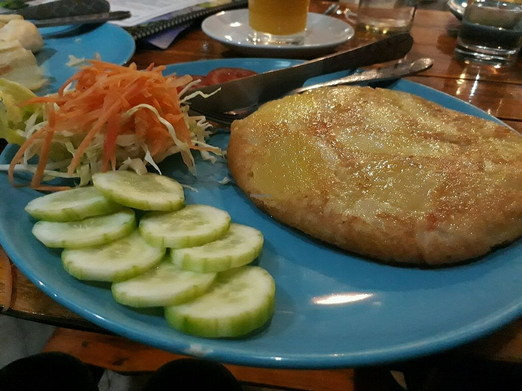 "Photo of Bodhi Tree Cafe 2  by <a href=""/members/profile/LilacHippy"">LilacHippy</a> <br/>Potato and Onion Tortilla (vegan on request) <br/> March 4, 2018  - <a href='/contact/abuse/image/76071/366426'>Report</a>"
