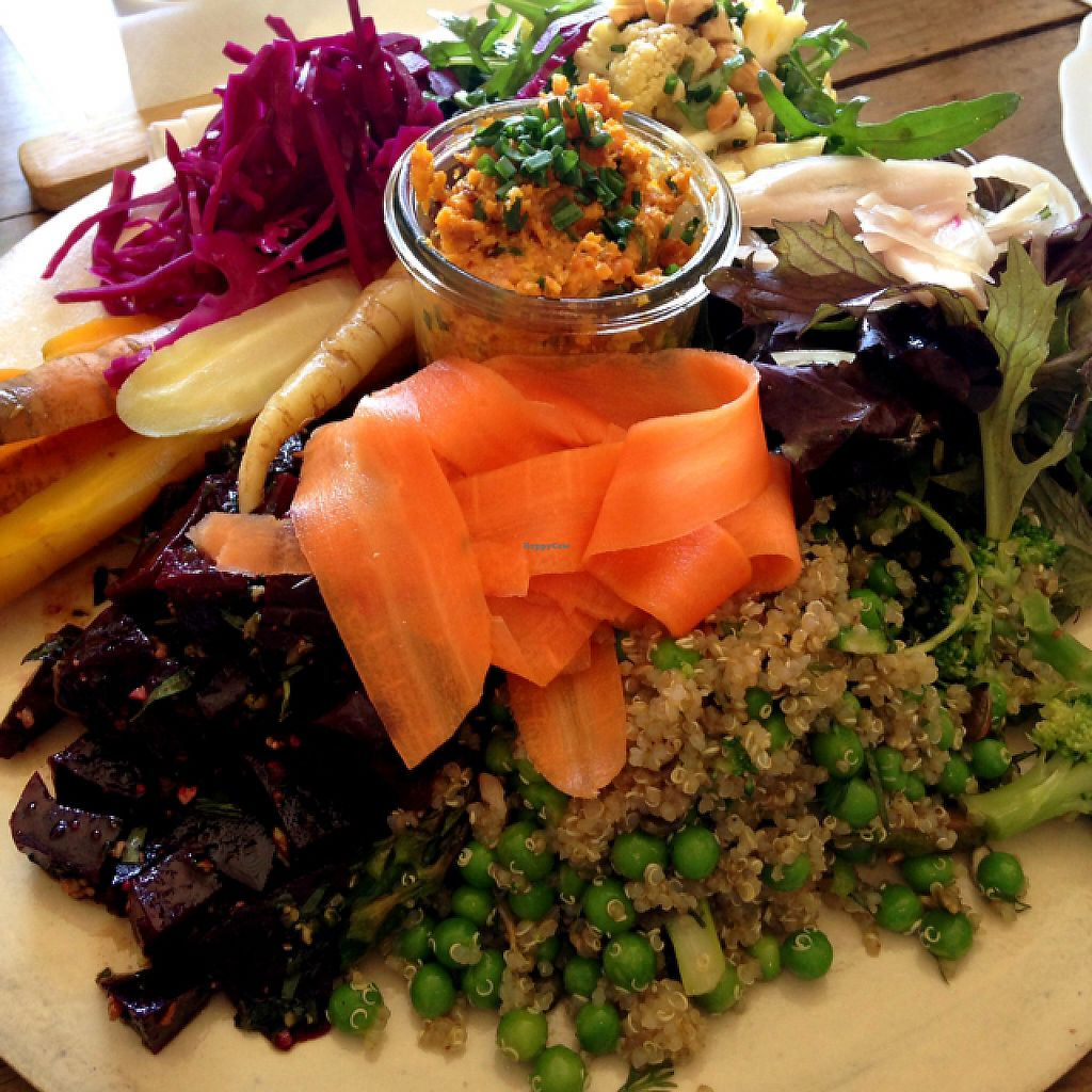 "Photo of Castle Farm Cafe  by <a href=""/members/profile/FranMcgarryArtist"">FranMcgarryArtist</a> <br/>Amazing sharing salads  <br/> May 26, 2017  - <a href='/contact/abuse/image/76073/262644'>Report</a>"
