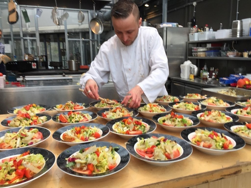 "Photo of Mediamatic ETEN  by <a href=""/members/profile/Sarosun"">Sarosun</a> <br/>Vegan food being served <br/> November 2, 2016  - <a href='/contact/abuse/image/76094/186078'>Report</a>"
