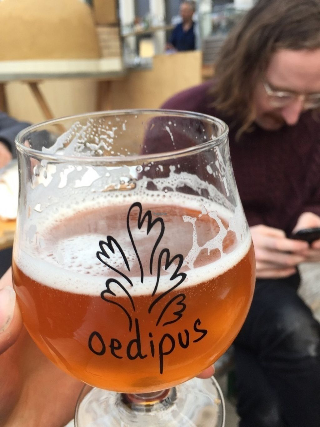 "Photo of Mediamatic ETEN  by <a href=""/members/profile/Sarosun"">Sarosun</a> <br/>Great beer <br/> November 2, 2016  - <a href='/contact/abuse/image/76094/186081'>Report</a>"