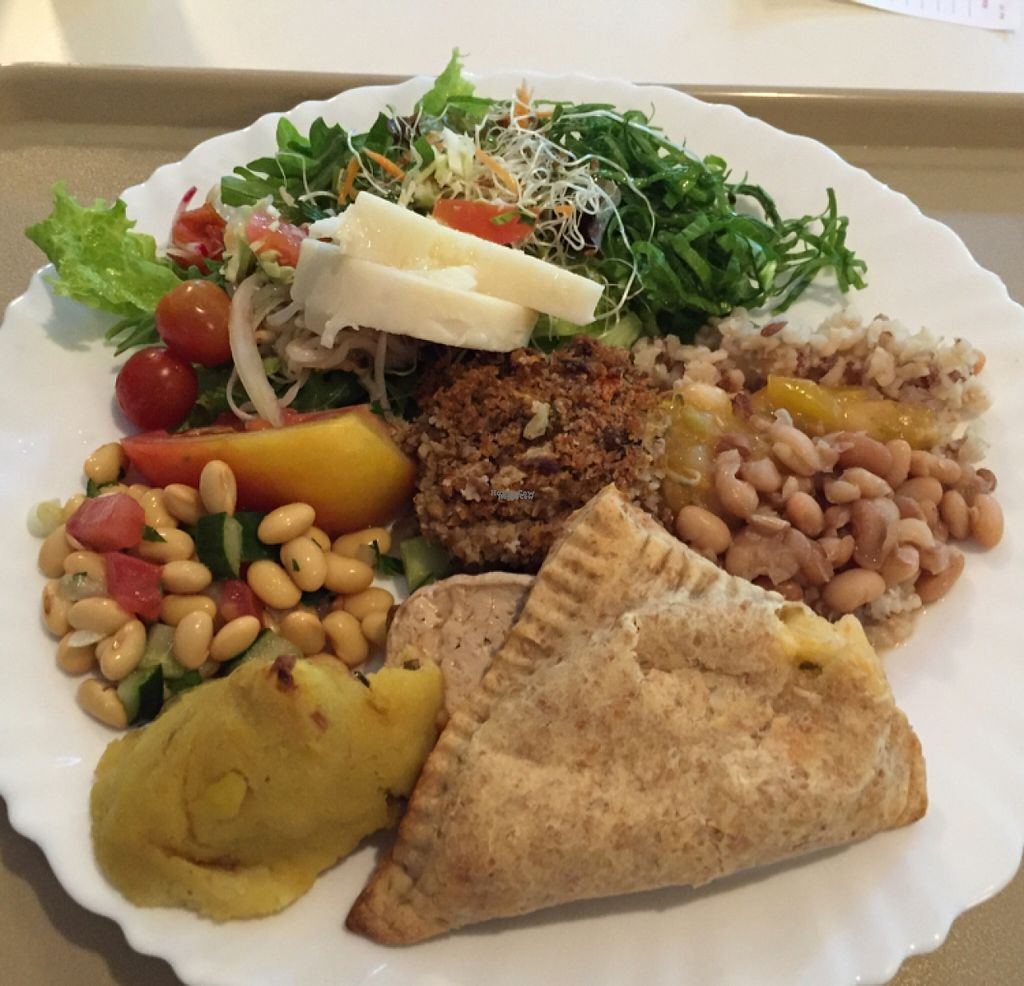 """Photo of Vege Restaurante Vegetariano  by <a href=""""/members/profile/Paolla"""">Paolla</a> <br/>Some of the options from the buffet <br/> August 11, 2016  - <a href='/contact/abuse/image/76098/167790'>Report</a>"""