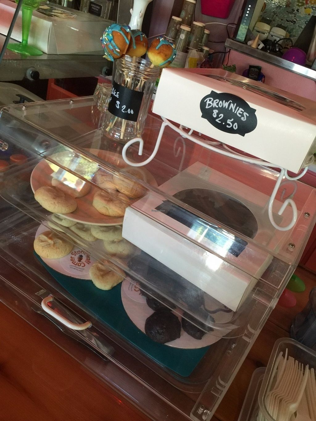 """Photo of CLOSED: Stonewall Corner  by <a href=""""/members/profile/BeccaBochenek"""">BeccaBochenek</a> <br/>Homemade vegan baked goods.  <br/> July 19, 2016  - <a href='/contact/abuse/image/76104/161004'>Report</a>"""
