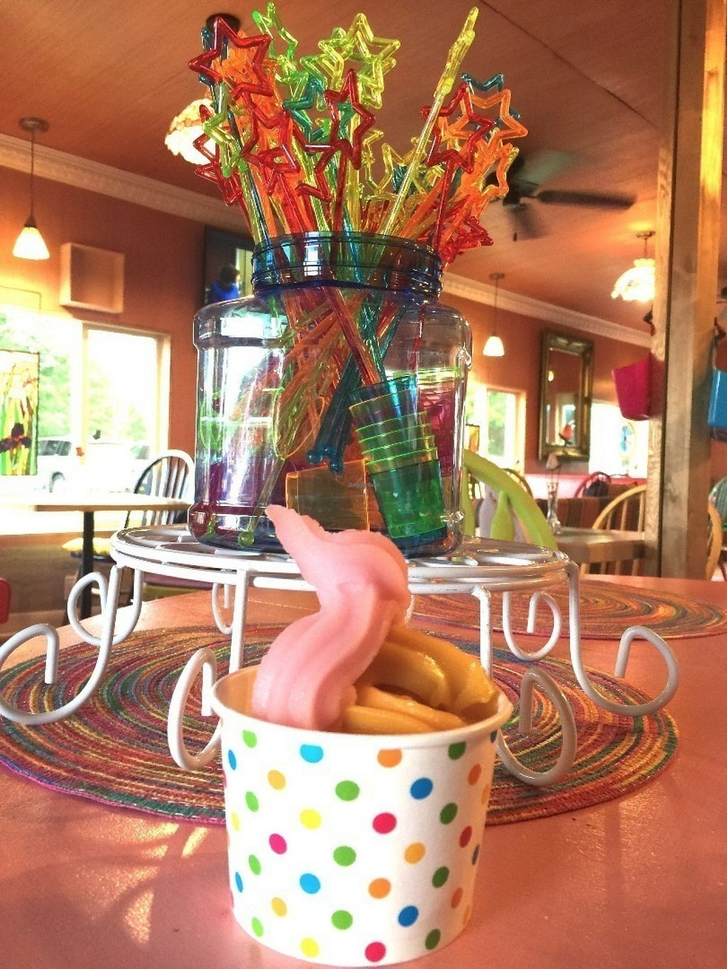 """Photo of CLOSED: Stonewall Corner  by <a href=""""/members/profile/BeccaBochenek"""">BeccaBochenek</a> <br/>Soft serve non-dairy Palazzolo's Artisan Gelato & Sorbetto as well. Watermelon, Mango, Cookies and Cream, Tahitian Vanilla, Chocolate.  <br/> July 19, 2016  - <a href='/contact/abuse/image/76104/161006'>Report</a>"""