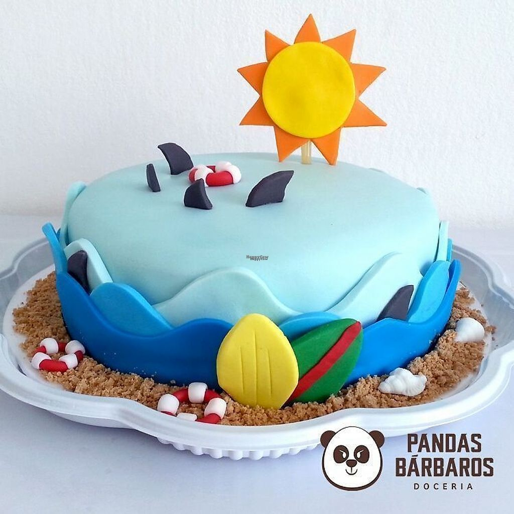 """Photo of Pandas Barbaros  by <a href=""""/members/profile/Barbaradsa"""">Barbaradsa</a> <br/>Beach cake <br/> February 22, 2017  - <a href='/contact/abuse/image/76109/229443'>Report</a>"""