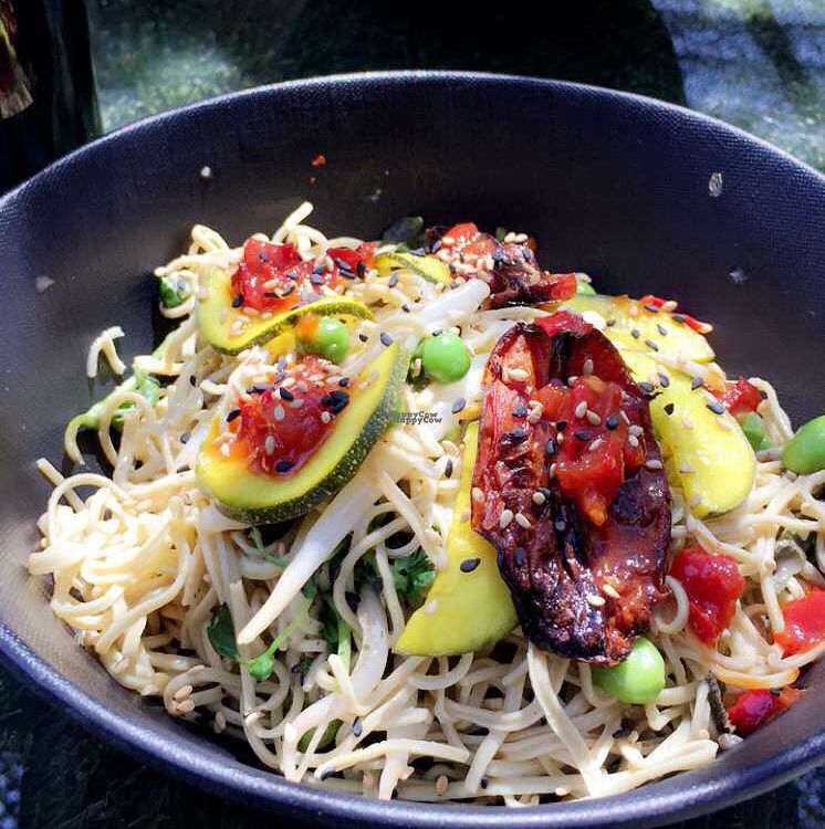 """Photo of Vital Root  by <a href=""""/members/profile/pinaclaudiaa"""">pinaclaudiaa</a> <br/>chilled edamame noodles  <br/> August 27, 2016  - <a href='/contact/abuse/image/76123/171832'>Report</a>"""