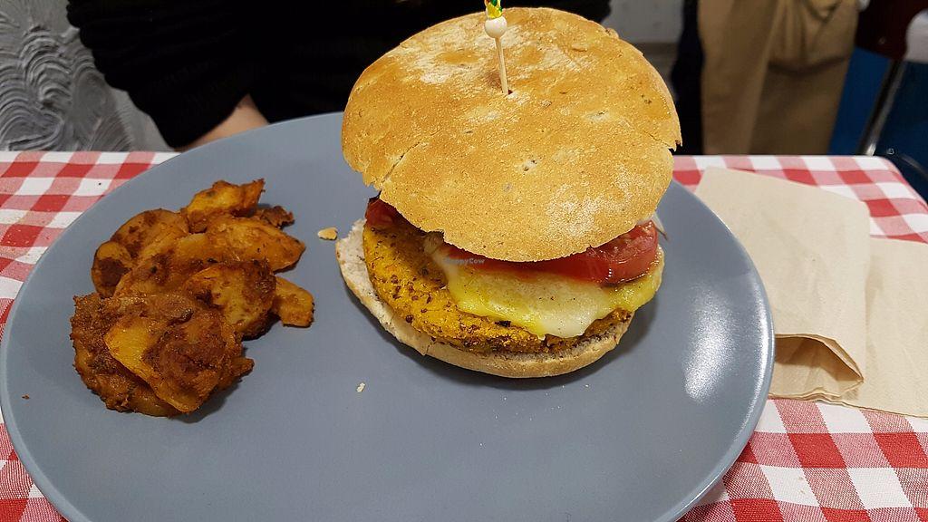 "Photo of Distrito Vegano  by <a href=""/members/profile/JonJon"">JonJon</a> <br/>Quinoa burger <br/> November 5, 2017  - <a href='/contact/abuse/image/76138/322087'>Report</a>"