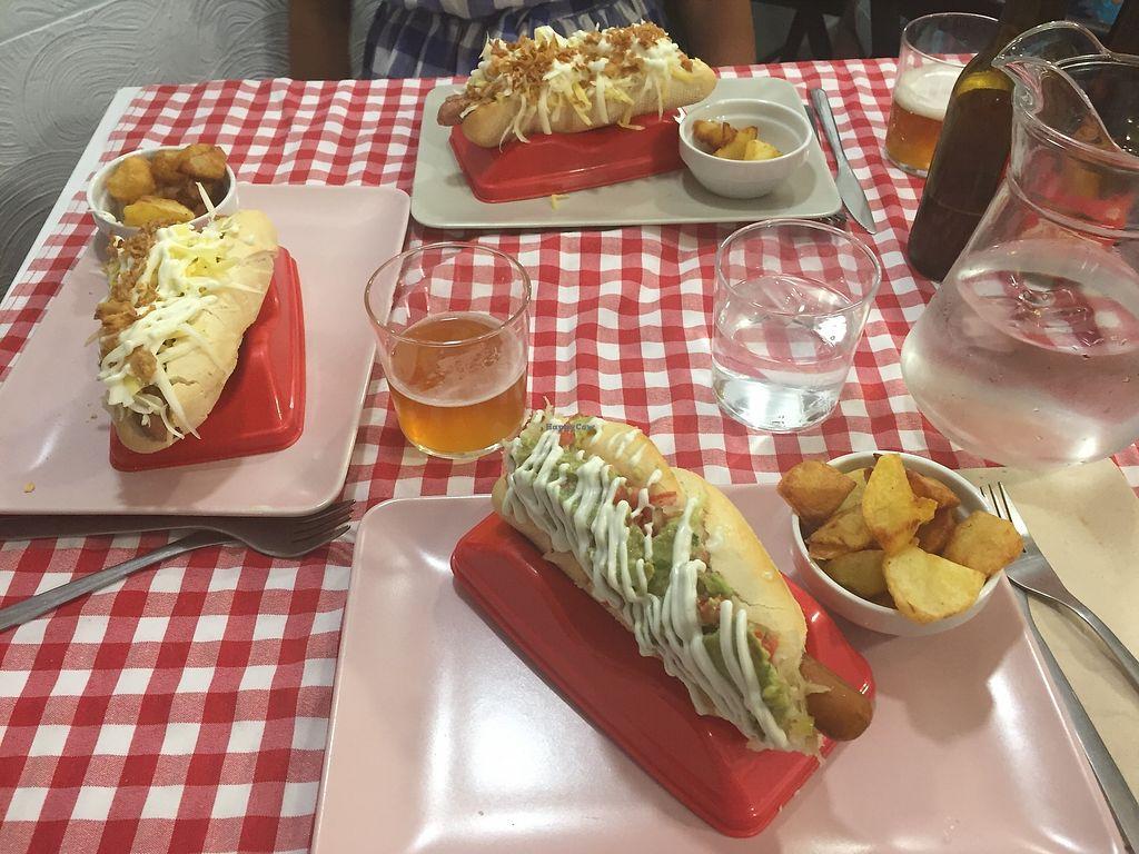 "Photo of Distrito Vegano  by <a href=""/members/profile/histerique"">histerique</a> <br/>Vegan hotdogs  <br/> March 11, 2018  - <a href='/contact/abuse/image/76138/369429'>Report</a>"
