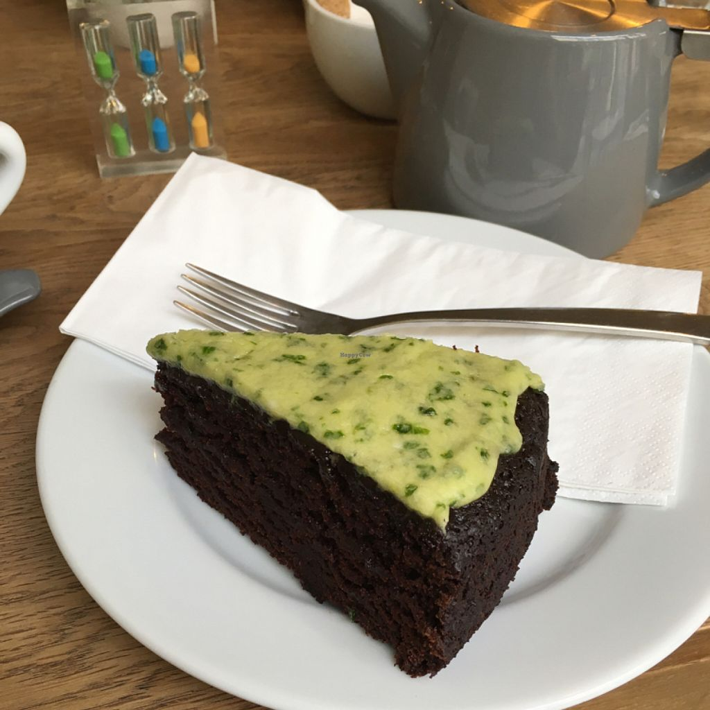 """Photo of Waterloo Tea  by <a href=""""/members/profile/Spaghetti_monster"""">Spaghetti_monster</a> <br/>chocolate avocado cake <br/> July 6, 2016  - <a href='/contact/abuse/image/76141/158181'>Report</a>"""
