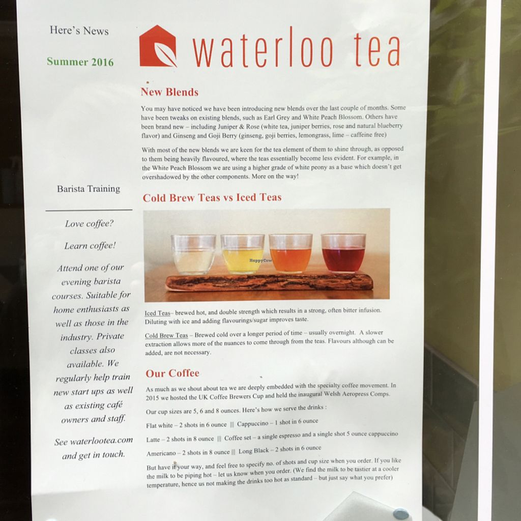 """Photo of Waterloo Tea  by <a href=""""/members/profile/Spaghetti_monster"""">Spaghetti_monster</a> <br/>drinks menu <br/> July 7, 2016  - <a href='/contact/abuse/image/76141/158256'>Report</a>"""