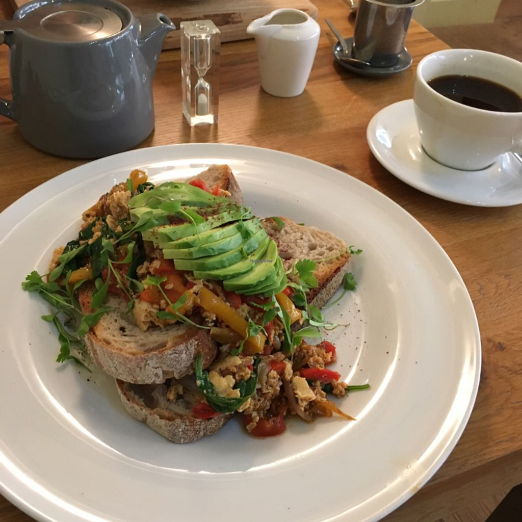"""Photo of Waterloo Tea  by <a href=""""/members/profile/Spaghetti_monster"""">Spaghetti_monster</a> <br/>scrambled tofu <br/> July 7, 2016  - <a href='/contact/abuse/image/76141/158257'>Report</a>"""