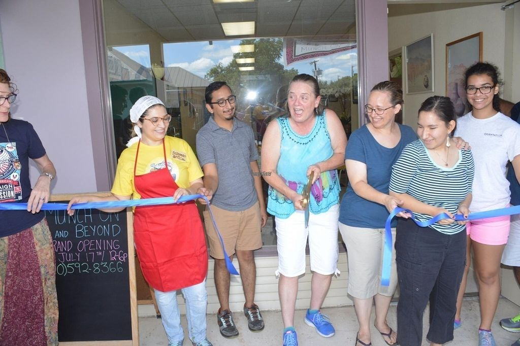 "Photo of Munch On and Beyond  by <a href=""/members/profile/SAVS"">SAVS</a> <br/>Grand Opening Day!  July 17, 2016 <br/> September 27, 2016  - <a href='/contact/abuse/image/76160/178163'>Report</a>"