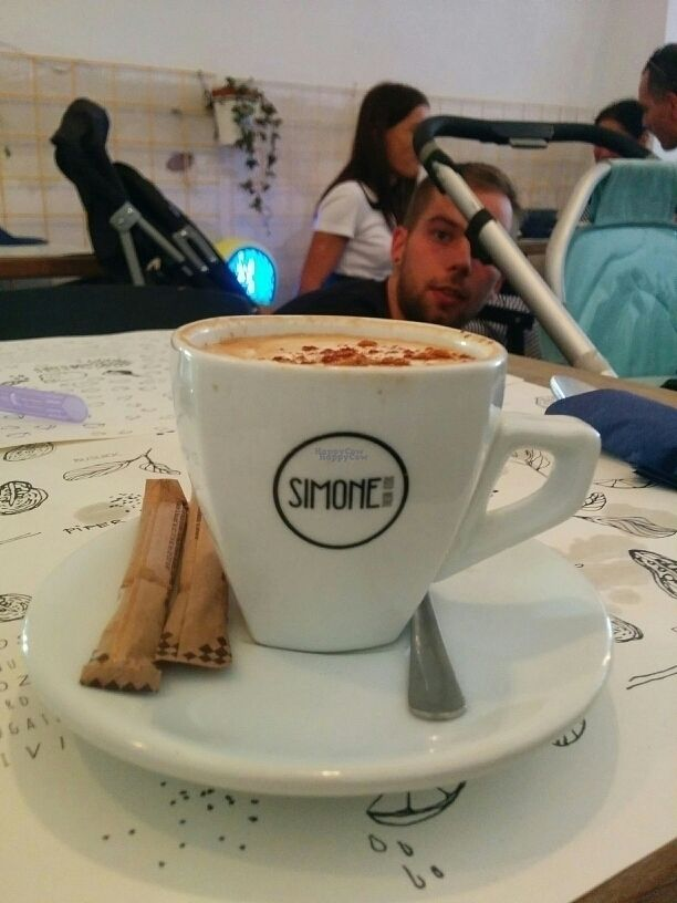 """Photo of Simones  by <a href=""""/members/profile/AinoPerttunen"""">AinoPerttunen</a> <br/>cappucino with cinnamon <br/> September 21, 2016  - <a href='/contact/abuse/image/76172/177209'>Report</a>"""