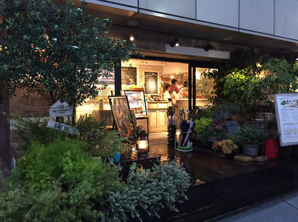 "Photo of Mr Farmer Omotesando  by <a href=""/members/profile/Kels415"">Kels415</a> <br/>front entrance  <br/> May 14, 2017  - <a href='/contact/abuse/image/76178/258594'>Report</a>"