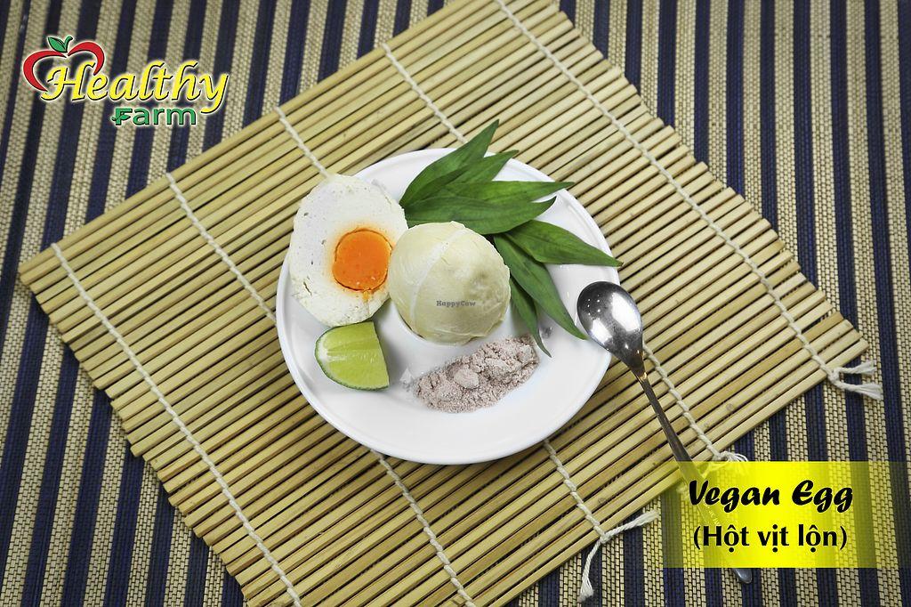 "Photo of Healthy Farm - Dien Bien Phu District 3  by <a href=""/members/profile/MRJayNguyen"">MRJayNguyen</a> <br/>Vegan Egg <br/> August 17, 2017  - <a href='/contact/abuse/image/76179/293541'>Report</a>"