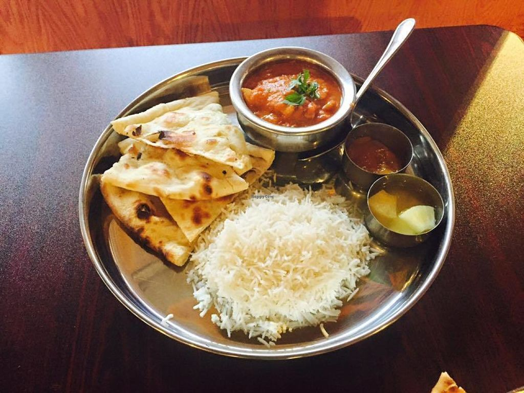 """Photo of Himalayan Curry & Kebob  by <a href=""""/members/profile/smasheasy"""">smasheasy</a> <br/>Served in a traditional way with Naan <br/> July 29, 2016  - <a href='/contact/abuse/image/76197/163142'>Report</a>"""