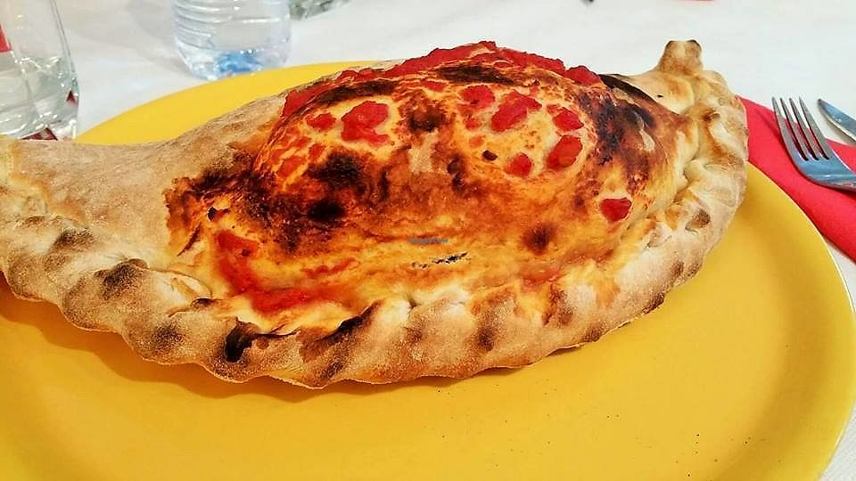"""Photo of Pizzeria Focacceria Zeneize  by <a href=""""/members/profile/PattyC"""">PattyC</a> <br/>Calzone <br/> July 9, 2017  - <a href='/contact/abuse/image/76205/278266'>Report</a>"""