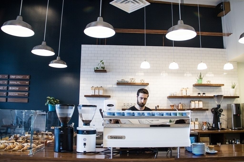 """Photo of Mothership Coffee Roasters  by <a href=""""/members/profile/JuannyRomero"""">JuannyRomero</a> <br/>full on third wave coffee program  <br/> September 14, 2016  - <a href='/contact/abuse/image/76207/175718'>Report</a>"""