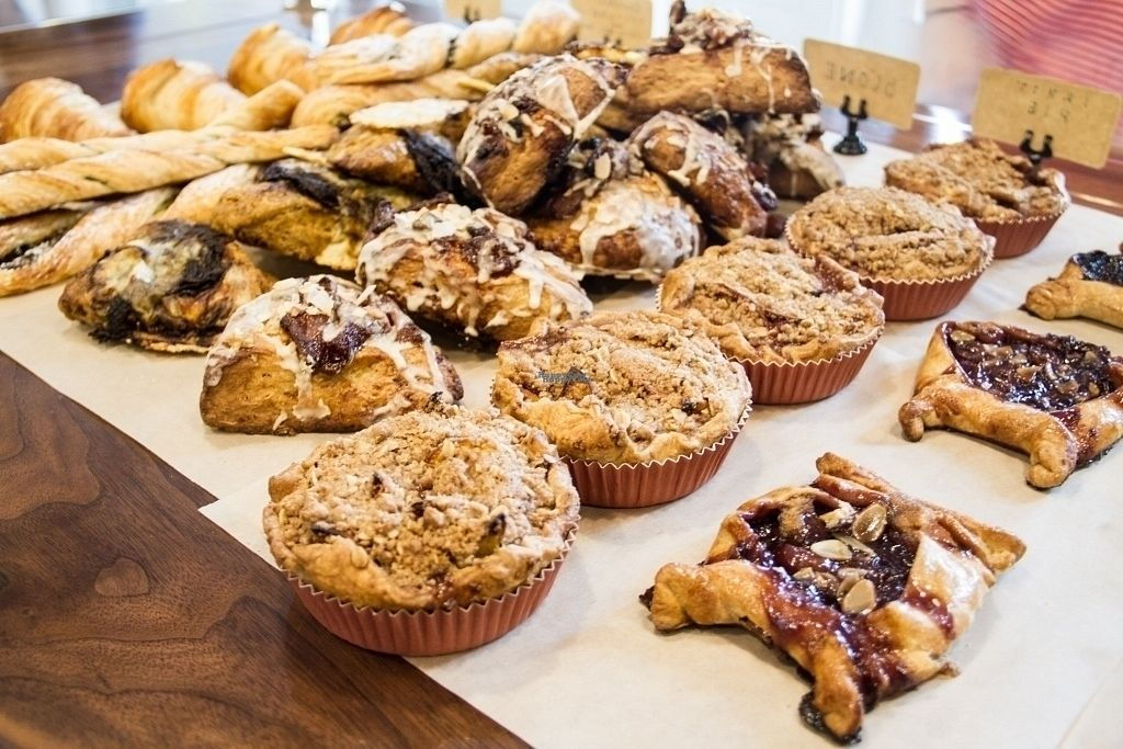 """Photo of Mothership Coffee Roasters  by <a href=""""/members/profile/JuannyRomero"""">JuannyRomero</a> <br/>farm to table pastries with gluten free and vegan selections <br/> September 14, 2016  - <a href='/contact/abuse/image/76207/175719'>Report</a>"""