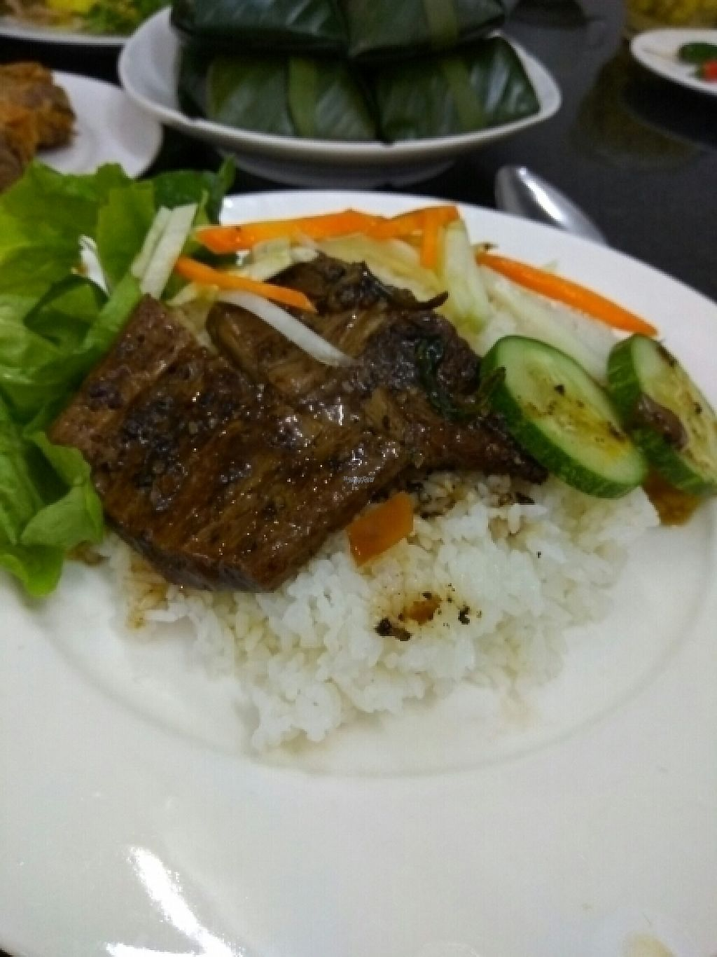 "Photo of Am Thuc Chay  by <a href=""/members/profile/Miggi"">Miggi</a> <br/>'pork' ribs and rice <br/> January 11, 2017  - <a href='/contact/abuse/image/76227/210580'>Report</a>"