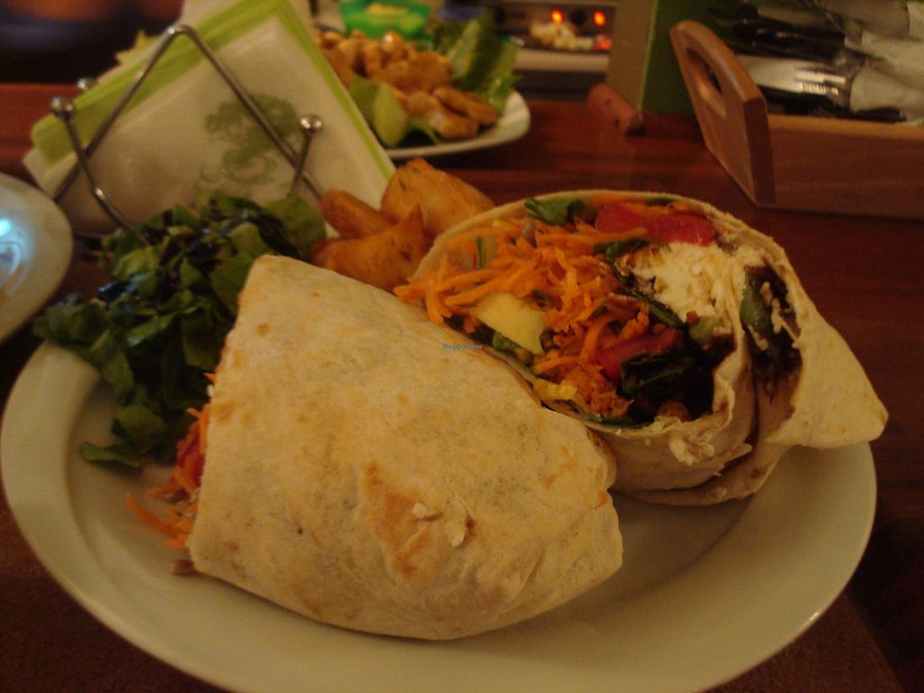 "Photo of Distrato Cafe  by <a href=""/members/profile/MichaelaLefakis"">MichaelaLefakis</a> <br/>veggie burrito <br/> July 9, 2016  - <a href='/contact/abuse/image/76246/158643'>Report</a>"