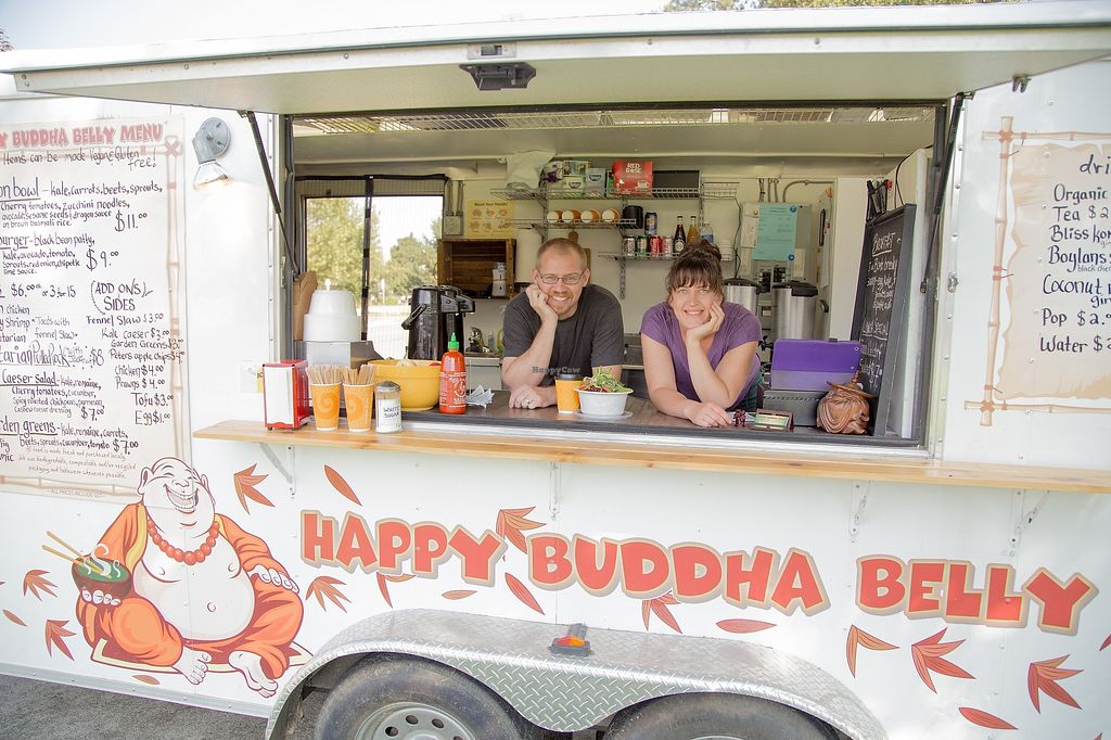 """Photo of Happy Buddha Belly - Food Trailer  by <a href=""""/members/profile/HappyBuddhaBelly"""">HappyBuddhaBelly</a> <br/>At Happy Buddha Belly we continue to promote a healthy lifestyle, build relationships, support local businesses, and remain environmentally friendly while serving delectable food. We come together with innovation, inspiration and creativity.  Local first, organic whenever possible <br/> February 24, 2018  - <a href='/contact/abuse/image/76268/362977'>Report</a>"""