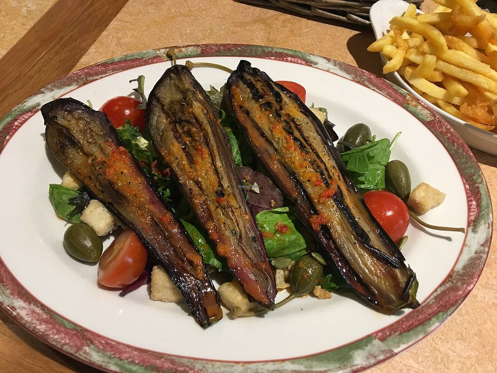 "Photo of Glen Nevis Restaurant  by <a href=""/members/profile/HighlandBuddha"">HighlandBuddha</a> <br/>Miso aubergine with crispy tofu  <br/> July 17, 2017  - <a href='/contact/abuse/image/76276/281563'>Report</a>"