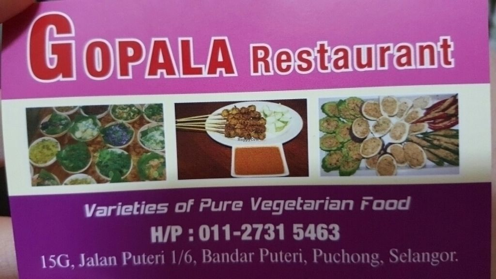 "Photo of CLOSED: Gopala Vegetarian  by <a href=""/members/profile/kittycoffee"">kittycoffee</a> <br/>Gopala <br/> July 12, 2016  - <a href='/contact/abuse/image/76279/159397'>Report</a>"